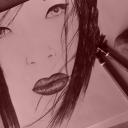 portrait technique crayons memoir d'une geisha
