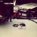autoportrait tecnique crayons
