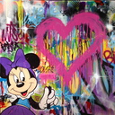 Toiles graff/disney